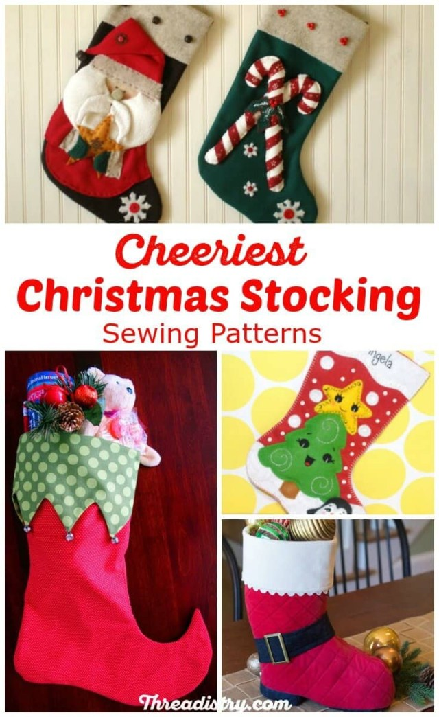 Christmas Stocking Sewing Pattern Surprise Santa With The Cutest Christmas Stocking Sewing Patterns