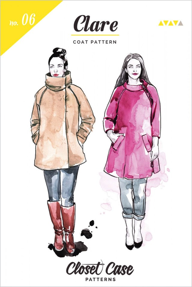 Coat Sewing Patterns Clare Coat Sewing Pattern From Closet Case Patterns