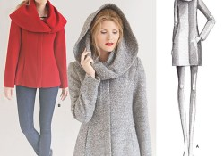 Coat Sewing Patterns Simplicity 1254 Misses Leanne Marshall Easy Lined Coat Or Jacket