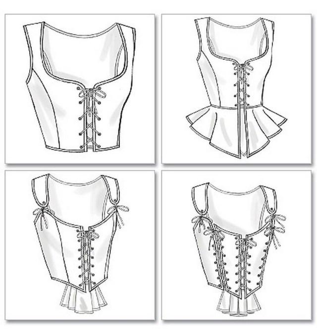 Corset Sewing Pattern Butterick Sewing Pattern Making History Misses Corset 6 20 B4669