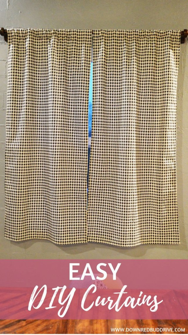 Curtain Sewing Patterns Easy Diy Curtains Simple Curtains Easy Curtain Tutorial