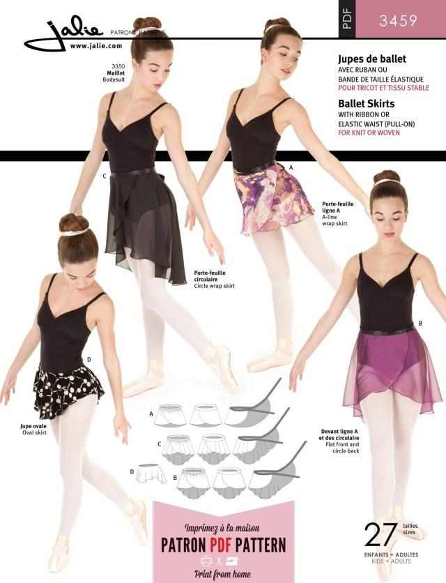Dance Skirt Sewing Pattern Ballet Skirts Dance Camp Sewing Ballet Pattern