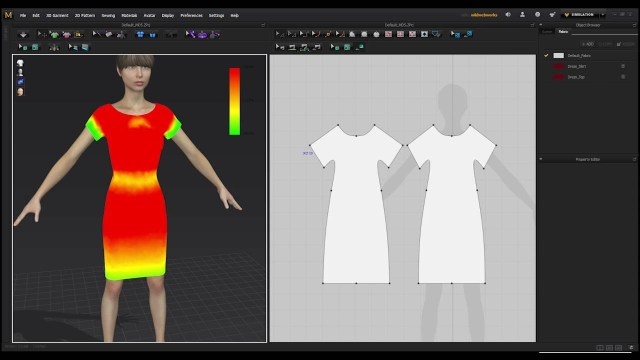 Designer Sewing Patterns Marvelous Designer Doesnt Create Real World Patterns Youtube