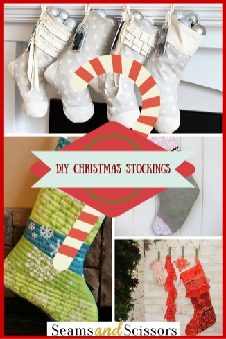 Diy Sewing Projects Christmas Sewing Projects Diy Christmas Stockings Seams And Scissors