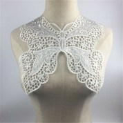 Diy Sewing Projects Clothes Butterfly Embroidery Neck Collar Lace Trim Clothes Sewing Applique