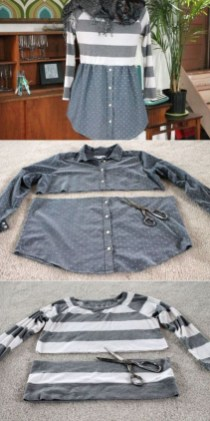 Diy Sewing Projects Clothes Maglia E Camicia Rivisitate Pinterest Sewing Diy