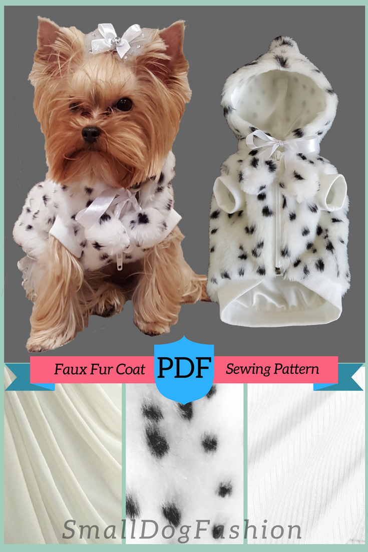 Pet Clothes Dog Harness Casual Button Shirt -XXLARGE- Sewing Pattern PDF Dog Clothes Pattern