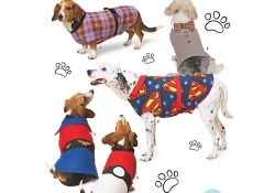 Dog Sewing Patterns Dog Coats In Three Sizes Simplicity Sewing Pattern 8538 Sew Essential