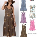 Dress Patterns Sewing Projects 6889 New Look Pattern Misses Easy Two Hour Pullover Dress
