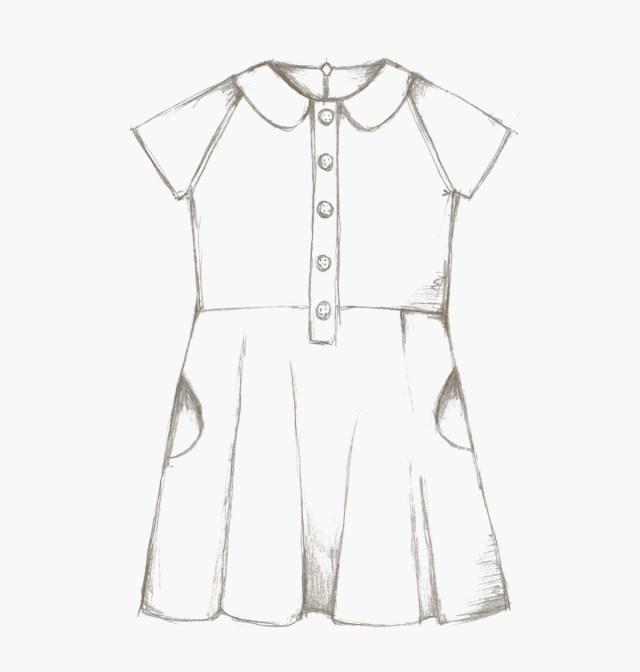 Dress Sewing Patterns The Ileana Dress Children Pdf Sewing Pattern Compagnie M