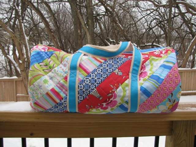 Duffle Bag Sewing Pattern 7 Stylish Duffel Bag Patterns You Can Sew In A Weekend