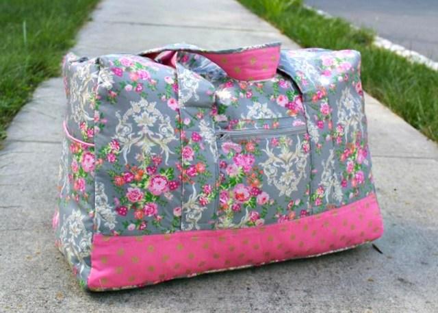 Duffle Bag Sewing Pattern Travel Duffel Bag Sewing Pattern Sewing 4 Free