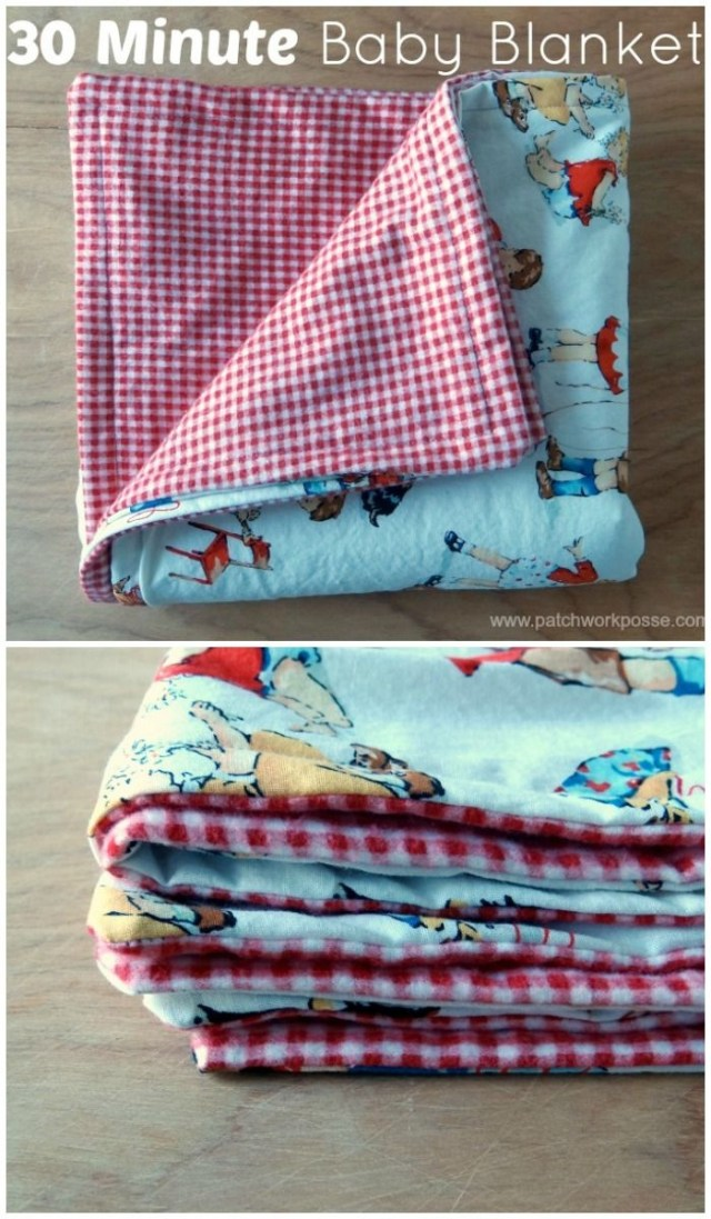 Easy Baby Blanket Sewing Patterns For Beginners 30 Minute Ba Blanket Dream Sew Sewing Ba Sewing Sewing