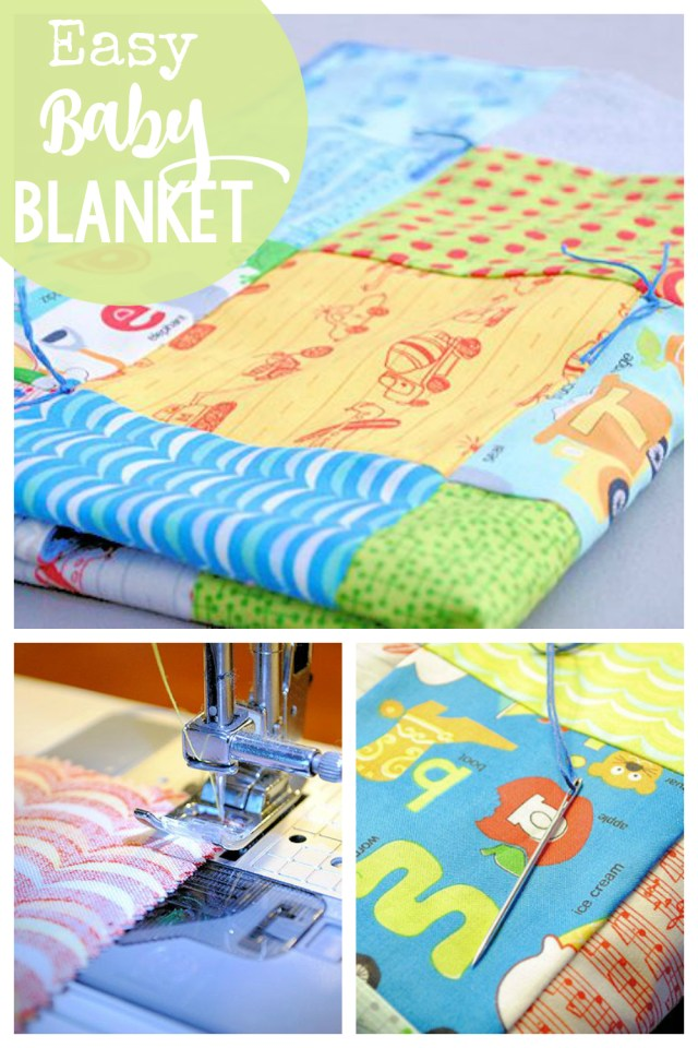 Easy Baby Blanket Sewing Patterns For Beginners Easy Ba Blanket Patterns To Sew Sew Pinterest Sewing