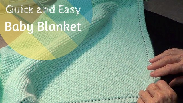 Easy Baby Blanket Sewing Patterns For Beginners Quick And Easy Ba Blanket Youtube