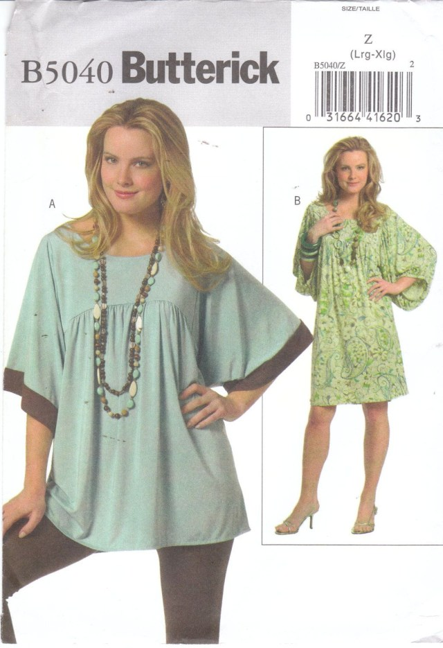 Easy Sewing Patterns Easy Sewing Pattern For Womens Plus Size Loose Fitting Pullover