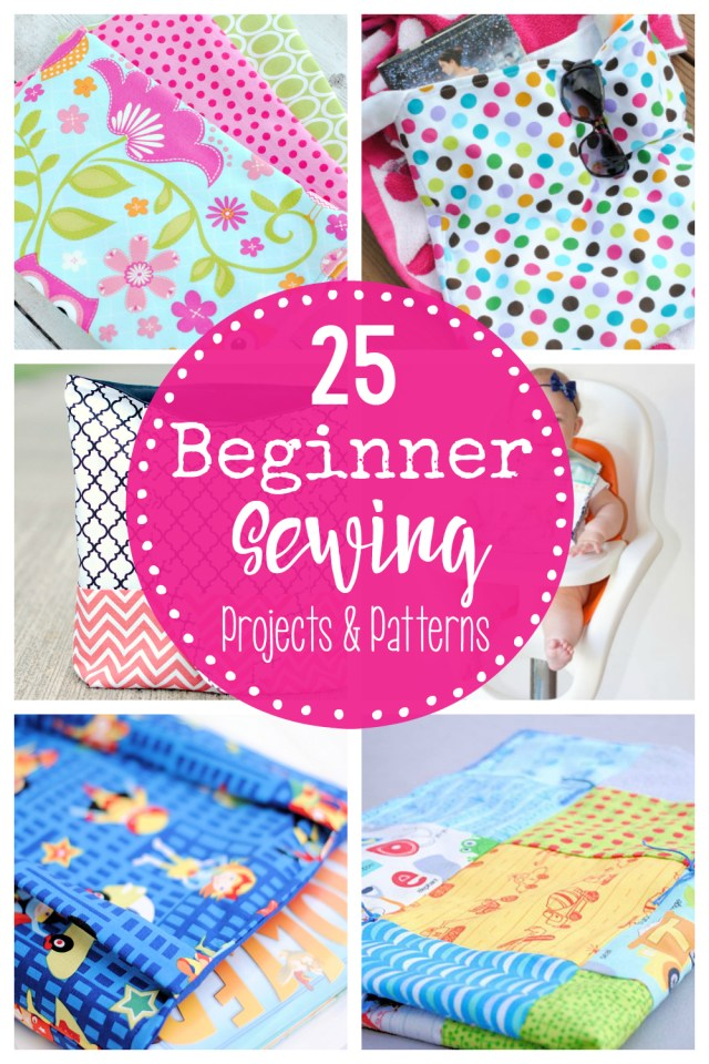 Easy Sewing Patterns For Beginners 25 Beginner Sewing Projects Creative Sewing Pinterest Sewing