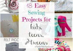 Easy Sewing Patterns For Kids 18 Easy Sewing Projects For Kids Teens And Tweens Super Cute