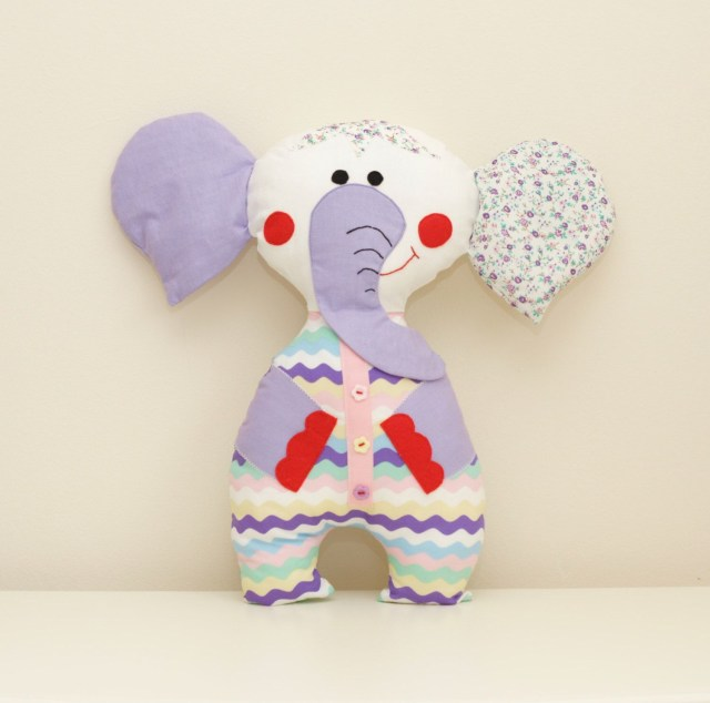 Elephant Sewing Pattern Elephant Sewing Pattern Pdf Instant Download Plush Stuffed Toy