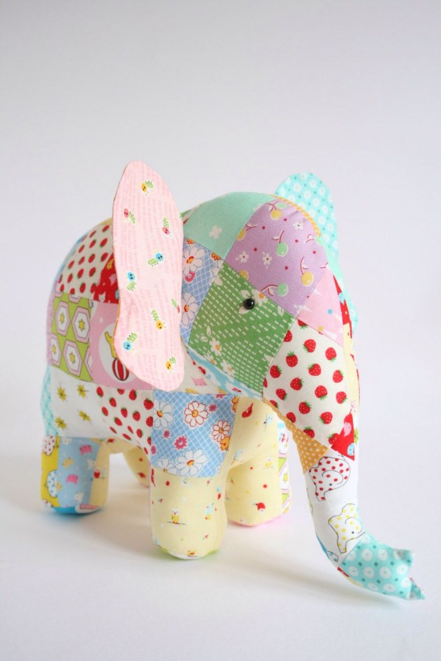 Elephant Sewing Pattern Elephant Sewing Pattern Pdf Pattern Instant Download Elephant