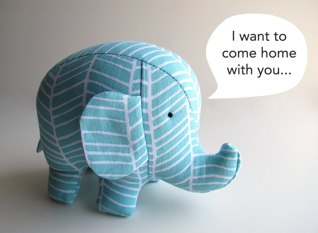 Elephant Sewing Pattern Elephant Veronicamade