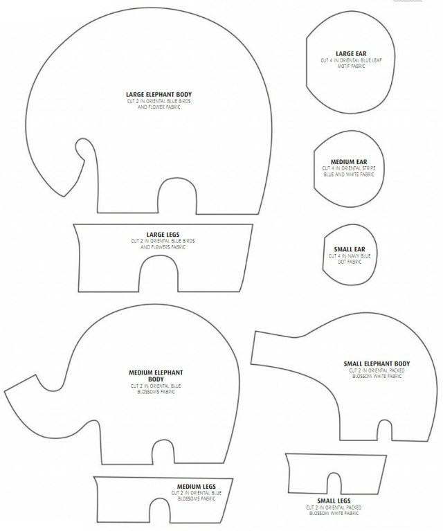 Elephant Sewing Pattern Elephantastic How To Sew An Elephant Tutorial Diy Tutorial Ideas