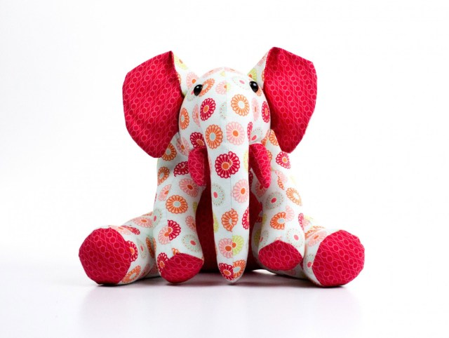 Elephant Sewing Pattern Ellie Elephant Sewing Pattern Funky Friends Factory