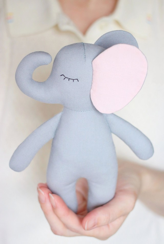 Elephant Sewing Pattern Sewing Pattern For An Elephant Soft Doll Etsy Pattern