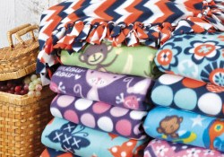 Fleece Sewing Projects No Sew Fleece Blanket Diy Fleece Throw Joann