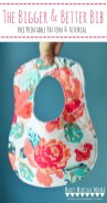 Free Baby Sewing Patterns Free Printable Bib Pattern And Step Step Tutorial Make The