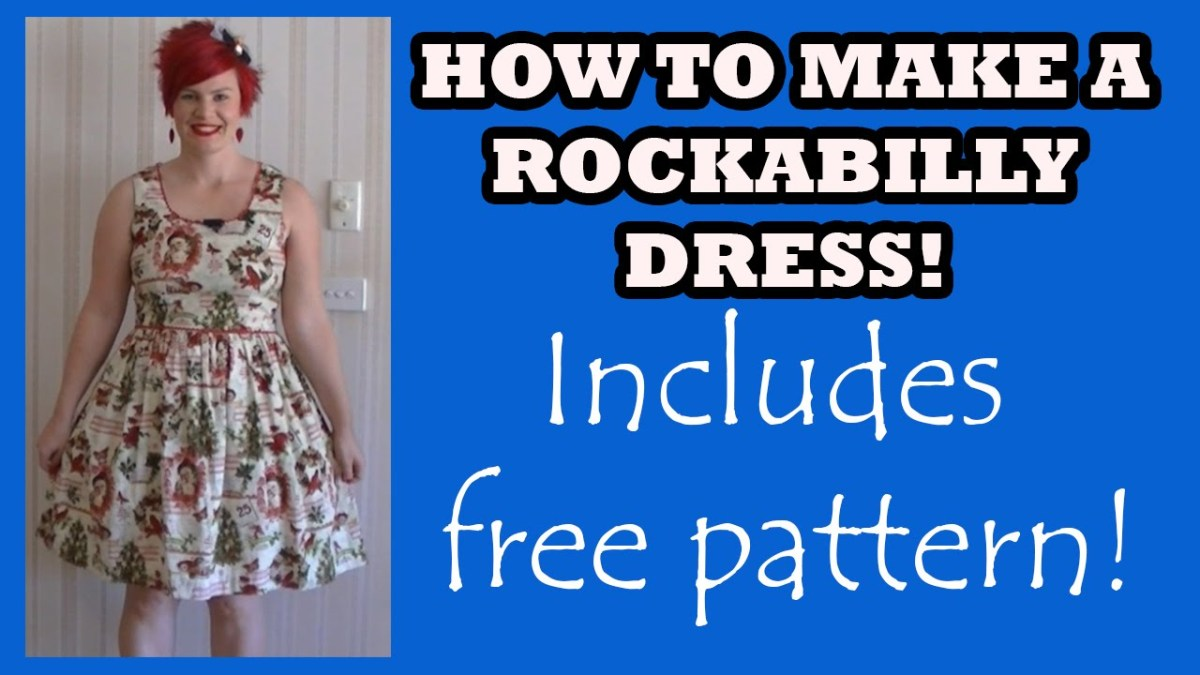 Free Plus Size Sewing Patterns How To Make A Rockabilly ...
