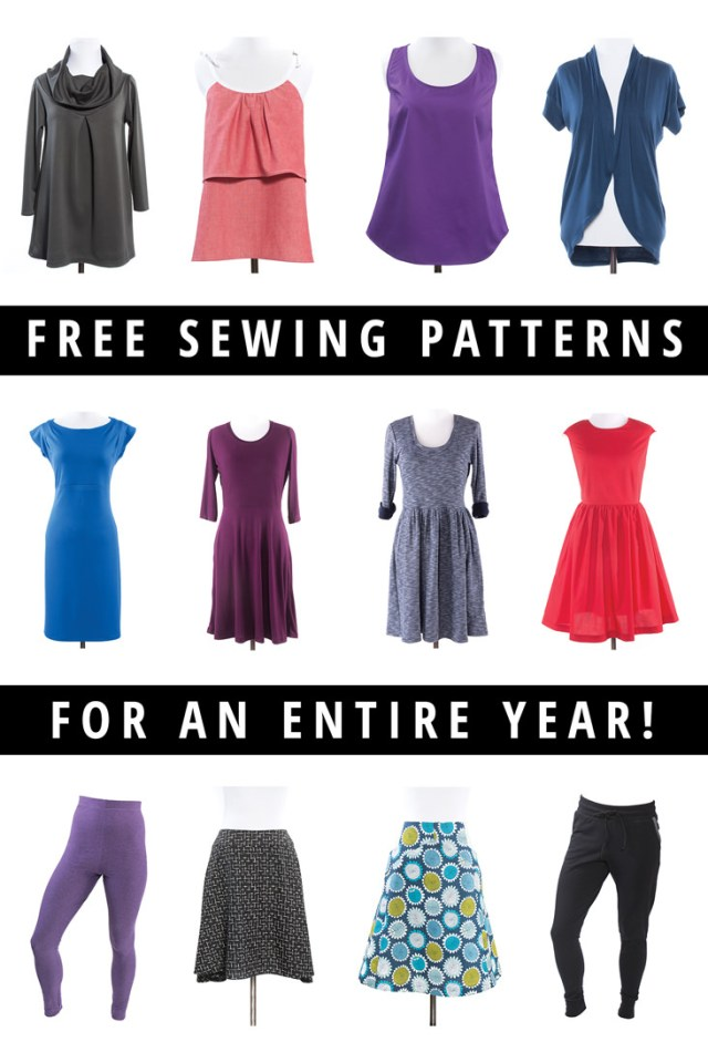 Free Sewing Pattern Giveaway Win A Year Of Free Sewing Patterns Indiesew