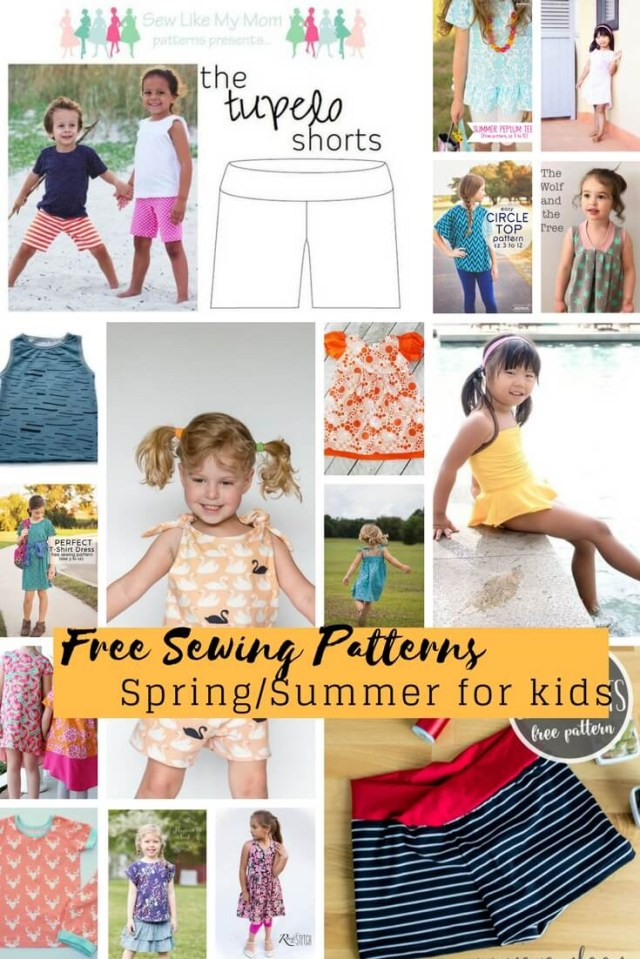 Free Sewing Patterns For Beginners Free Sewing Patterns For Kids Springsummer 2018 Life Sew Savory