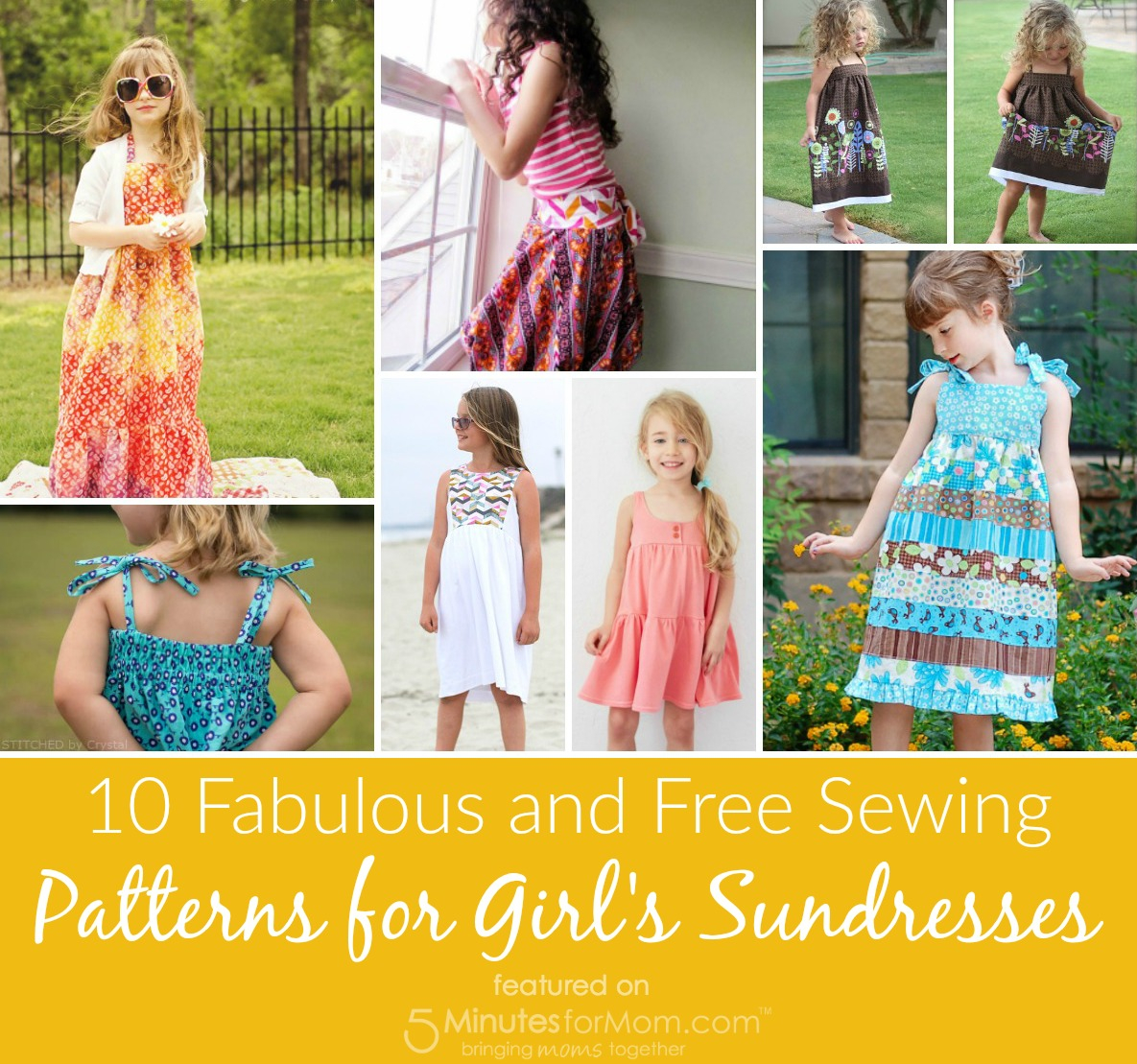 Girls Sewing Patterns 10 Fabulous And Free Sewing Patterns For Girls Sundresses