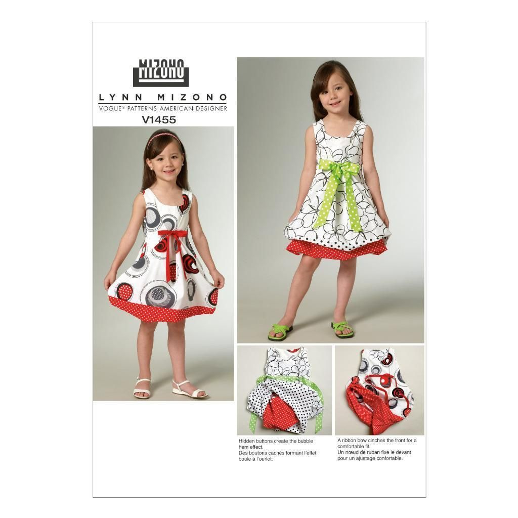 Girls Sewing Patterns Vogue Sewing Pattern Children S Girls Reversible Pullover Dress 2
