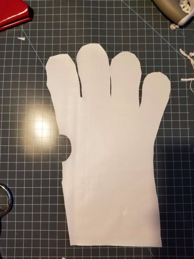 Glove Sewing Pattern Power Rangers Mmprzeo Gloves 11 Steps With Pictures