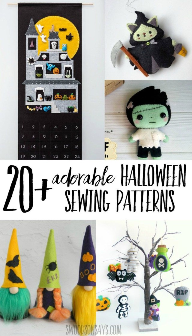 Halloween Sewing Patterns 20 Halloween Sewing Projects Halloween Sewing Crafts