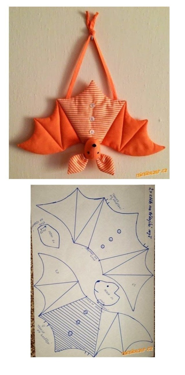 Halloween Sewing Patterns Free Bat Sewing Pattern Sewing Quilting Tips Projects Sewing