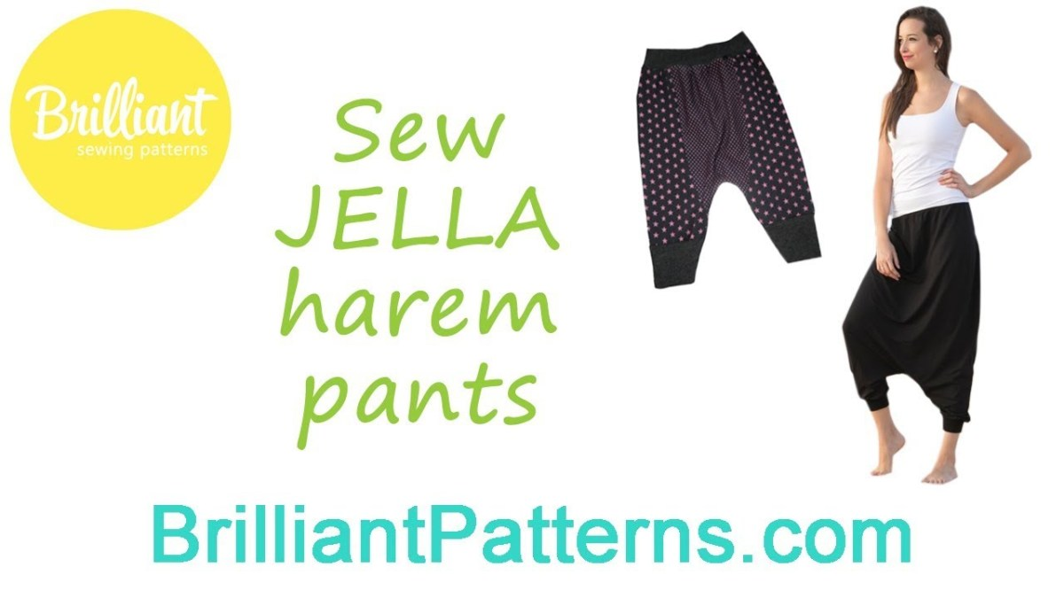 24+ Awesome Picture of Harem Pants Sewing Pattern