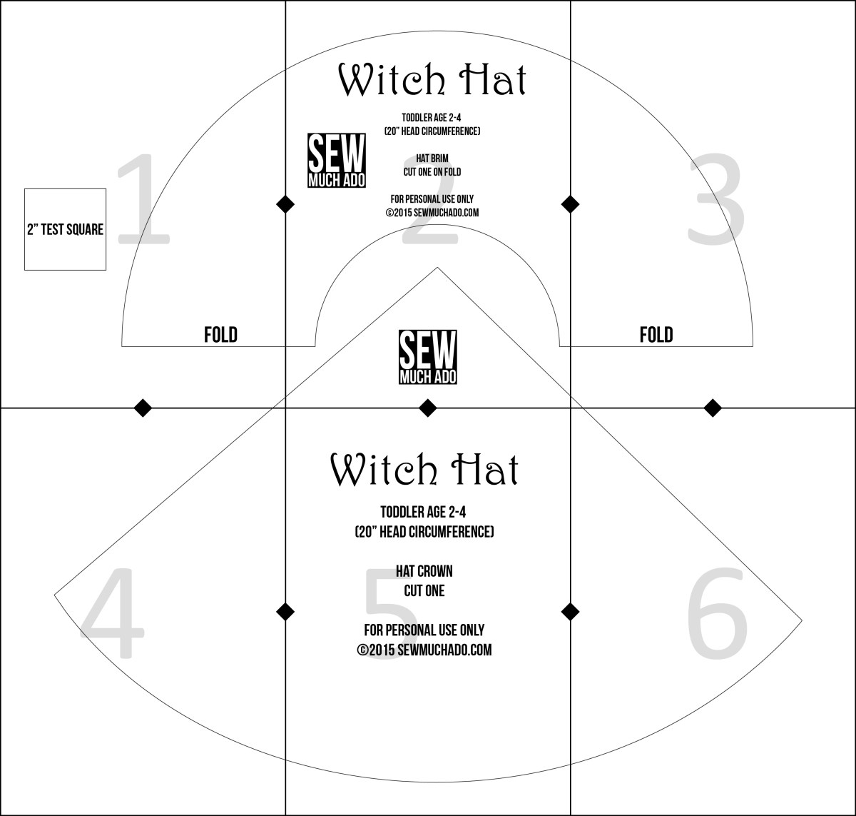 Hat Sewing Patterns Free Witch Hat Pattern Diy Witch Costume Sew Much Ado