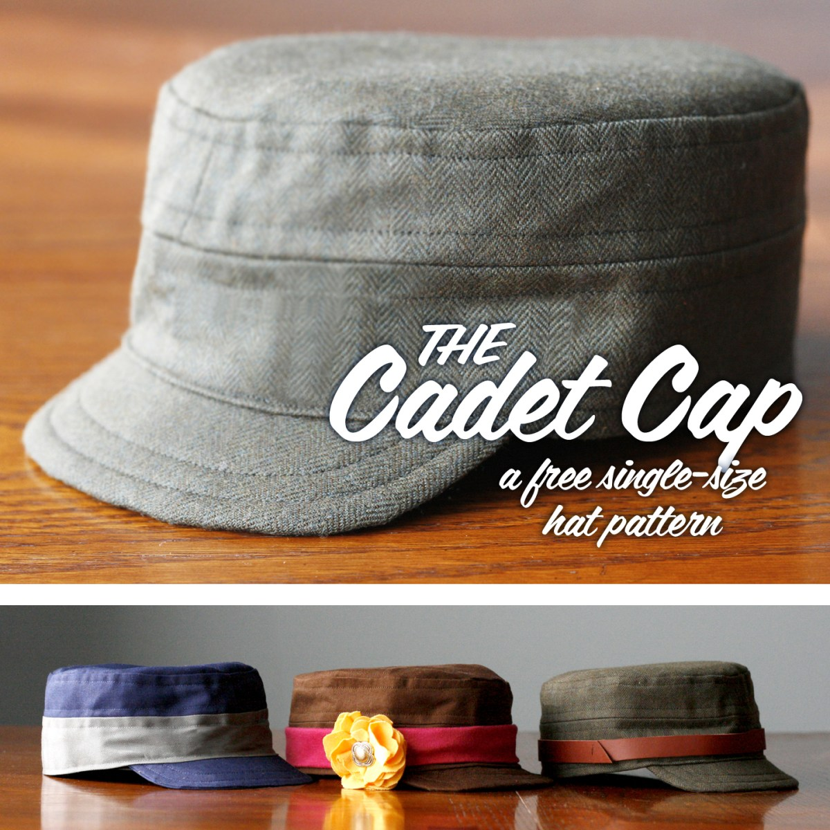 Hat Sewing Patterns How To Make A Cadet Cap Tutorial Free Pattern Britex Fabrics