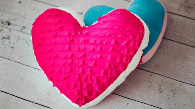 Heart Pillow Sewing Pattern How To Make A Heart Pillow Youtube