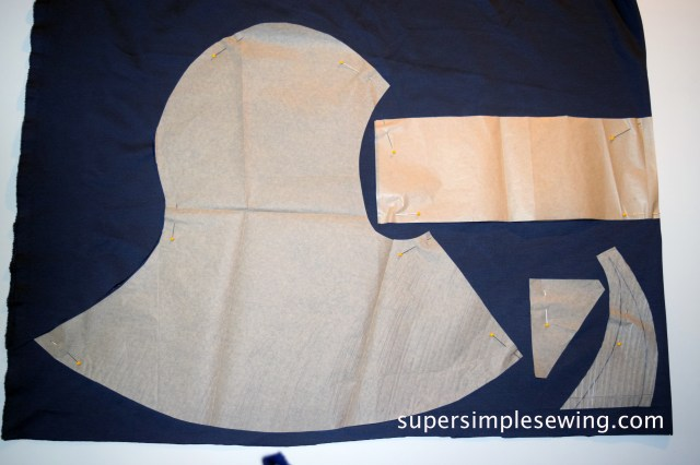 Hood Sewing Pattern Assassins Creed Inspired Hood Sewing Pattern