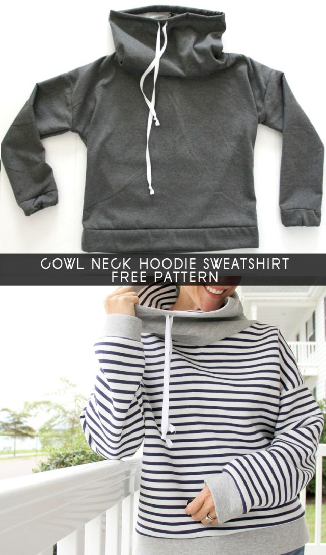 30 Inspired Photo Of Hoodie Pattern Sewing Free Woman