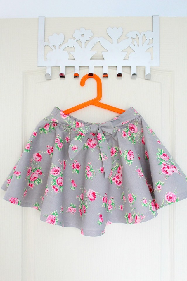 How To Make Sewing Patterns Circle Skirt Tutorial With Elastic Waist Without A Pattern