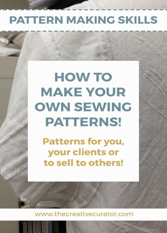 How To Make Sewing Patterns How To Make Your Own Sewing Patterns Getting Started Sewing