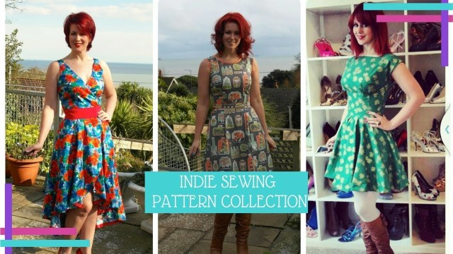 Indie Sewing Patterns My Indie Sewing Pattern Collection 2017 Vlog 29 Youtube