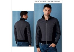 Jacket Sewing Pattern Mens Mens Bomber Style Jacket Vogue Sewing Pattern 9290 Sew Essential