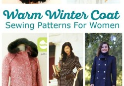 Jacket Sewing Patterns For Women Brave The Cold With Wonderful Womens Winter Coat Sewing Patterns