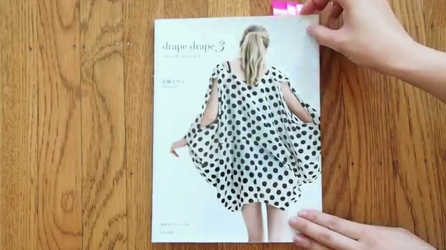 Japanese Sewing Patterns Drape Drape 3 Japanese Sewing Pattern Book Review Draped Dresses